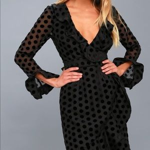 Keepsake Polka Dot Dress